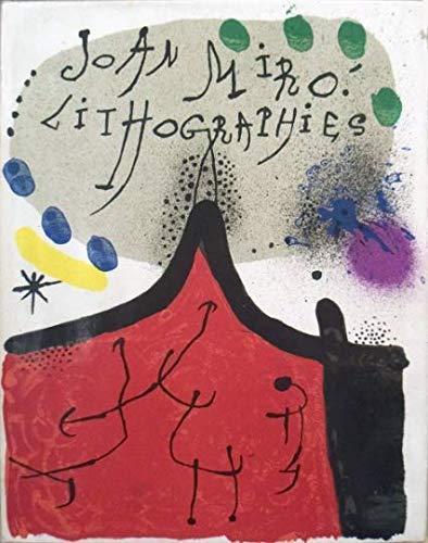 Artebonito Buch - Miro Lithographien Band 1, enthält 12 Original Lithographien -
