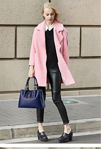 Nicole&Doris Borsa a tracolla nuove donne / signore casuale borsa a tracolla tracolla borsa borsa per le donne(Rose) Sapphire