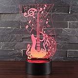 Te Amo cariño Bombilla LED 3D decoración romántica 7 Colores luz de Noche Brillante Regalo de Novia día de la Madre 11 Sin Controlador