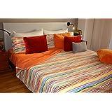 Juego de sábanas estampado KILIAN (para cama de 150x190/200)
