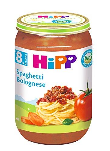 HiPP Spaghetti Bolognese, 6er Pack (6 x 220 g)