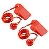 Forfar 2Pcs Universal Sports Running Machine Seguridad...