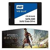 """WD Blue 3D NAND SATA SSD Unità allo Stato Solido Interna 2.5"""", 2 TB"""