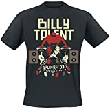 Billy Talent Louder Than The DJ T-Shirt schwarz XL