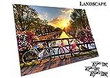 Print Poster Beautiful Sunrise Amsterdam Niederlande