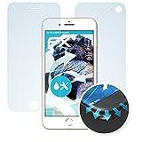 atFolix Schutzfolie für iPhone 8 Folie - 3er Set FX-Curved-Clear Flexible Displayschutzfolie für gewölbte Displays - vollflächiger Schutz bis zum Rand