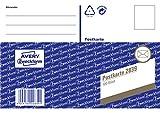 Avery Zweckform 2839 Postkarte, DIN A6, vorgedruckt, 100 Karten/1 Stück, weiß