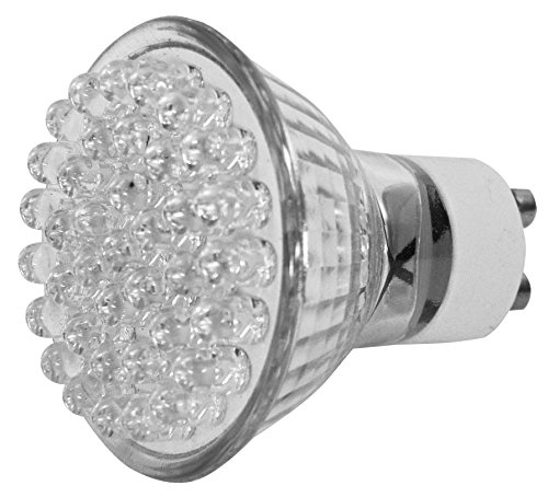 Eaxus LED-Strahler, Glas, GU10, 2 W, warmweiß -
