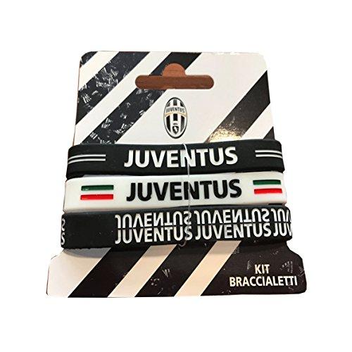 selezione migliore 3abd5 02d00 Giemme articoli promozionali - Coppia Bracciali Gomma Juve Juventus  Prodotto Ufficiale