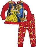 Princesas Disney - Pijama para niñas - Disney La bella y la bestia -...