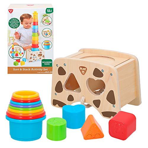 PlayGo - Casita madera para niños con actividades (46400)