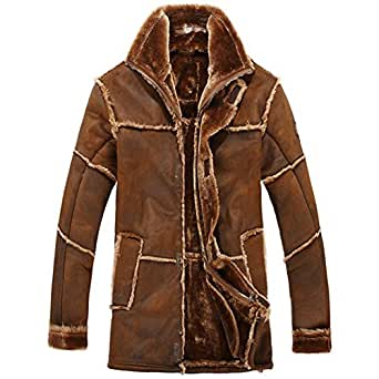 how to clean fur lined leather coat