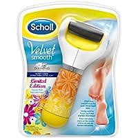 Scholl 3027683 Velvet Smooth Express Pedi elektrischer Hornhautentferner (mit Diamantpartikeln, Summer Edition) preisvergleich bei billige-tabletten.eu