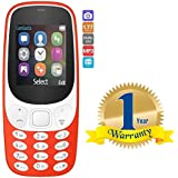 Rextan A3310 Dual Sim Multimedia Mobile Multi-Function Phone With Camera Compatible With All Smartphones