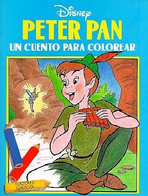 Peter Pan. Un cuento para colorear