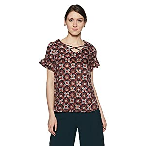 Allen Solly Women's Starred Regular Fit Shirt