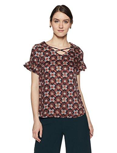 Allen Solly Women's Starred Regular Fit Shirt