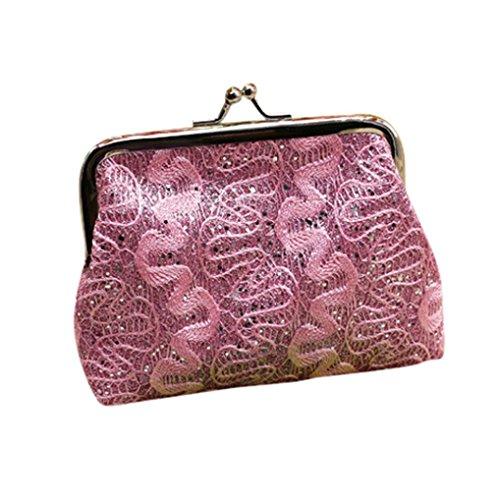 Portefeuille Femme Kolylong Femme Petit Sequin Holder Wallet Card Porte-Monnaie D'Embrayage Sac à Main Organisateur