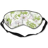 Comfortable Sleep Eyes Masks Light Florals Pattern Sleeping Mask For Travelling, Night Noon Nap, Mediation Or... preisvergleich bei billige-tabletten.eu