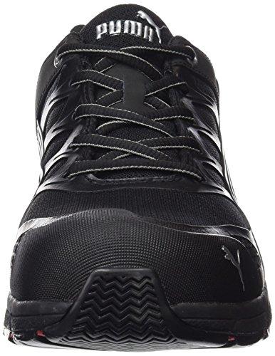 Puma Safety Shoes 47-642580-43, Chaussures de sécurité Adulte Mixte Noir (Schwarz)