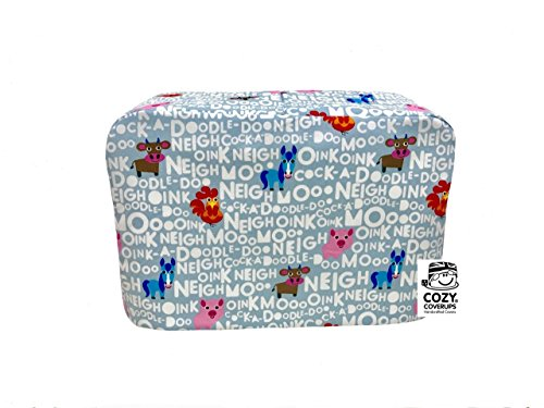 cozycoverup® Staub Cover für Toaster Farm (Dualit New Gen Classic 4Slice) (Slice Dualit 4 Toaster)