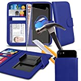 ( Blue 5 inch) case for Leagoo Z6 case cover pouch High