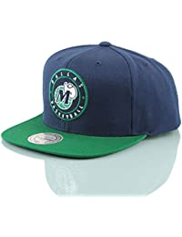 Mitchell   Ness Dallas Mavericks 2 Tone Circle Patch HUD055 Snapback Cap  Kappe Basecap 12a30bccc0cd