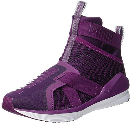 Puma Fierce Strap Swirl, Chaussures de Fitness Femme, Noir/Blanc