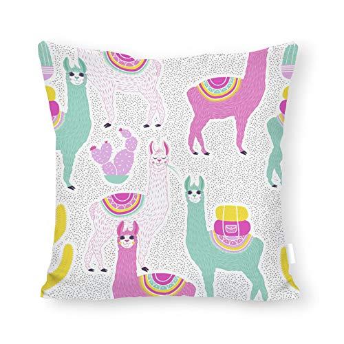 DKISEE Kissenbezug, abstraktes Tee-Muster, quadratisch, für Sofa Couch Stuhl 22