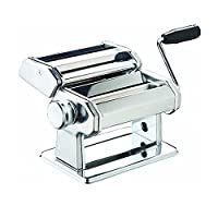 Mister Chef Deluxe Double Cutter Pasta Machine, Silver