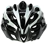 #5: Cockatoo Professional Multi-Colour Cycling Helmet, Skating Helmet (White:Black, Large)