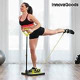 InnovaGoods ig117209Plateforme de Fitness, Unisexe Adulte, Noir/Jaune, Taille Unique