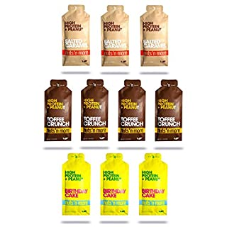 Nuts 'N More High Protein Peanut Spread (Mix Sample, 10 Pack)