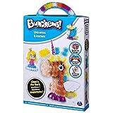 BunchBot Crea Bunchems UNICORNO - UNICORNS - LICORNES - GLOW'N THE DARK - PHOSPHORESCENTS - BRILLANO AL BUIO Piccole sfere che si agganciano tra loro con cui dar vita a qualsiasi cosa Gioco creativo per bambini dai 6 anni