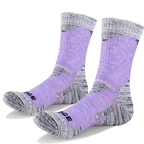 51jbWljX%2BHL. SS500  - YUEDGE Women's Hiking Walking Socks 5 Pairs Anti Blister Cotton Cushion Athletic Sports Crew Socks For Ladies Year Round