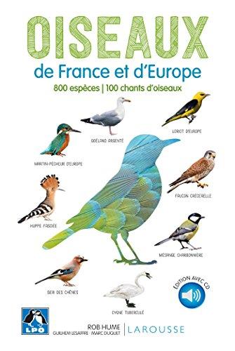 Oiseaux de France et d'Europe par Rob Hume