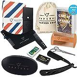 Coffret Barbe Complet par Sapiens : Kit d'Entretien pour Barbe & Moustache avec Brosse, Peigne et...