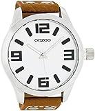 Oozoo C1001C5502–Uhr für Männer, Lederband