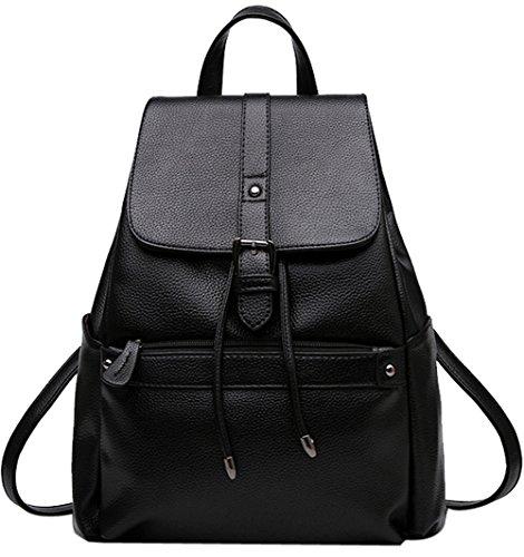 Damen Rucksack, Coofit Damen Leder Rucksack Schultasche Daypacks Für Outdoor Sports