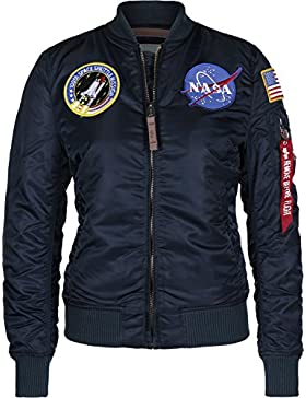 Bomber Alpha Industries MA-1 Nasa Marino