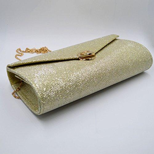 Millya, Poschette giorno donna, gold (oro) - bb-01177-01C gold