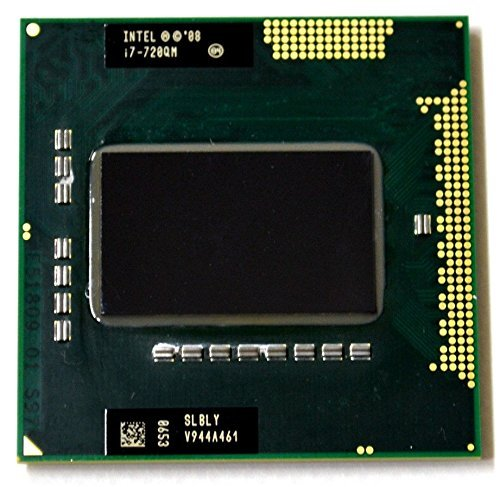 Intel Core i7 720QM SLBLY 1.6GHz 6MB Quad core Mobile CPU Processor Socket G1...