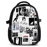 Rucksack für Jungen Mädchen Damen Herren - Schulrucksack Schulranzen Ranzen für die Schule - Backpack für Stadt/Sport für Kinder & Jugendliche - Cooles Design/aus Canvas Stoff - Photos