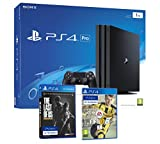 PS4 PRO 1TB Playstation 4 - PACK 4K - Incluye 2 Juegos con Resolución 4K nativa - FIFA 17 + The Last Of Us: Remastered