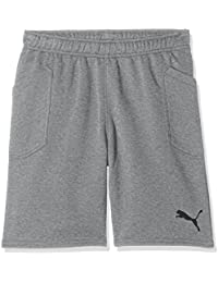 d7891d7ce Puma Liga Casuals Shorts Jr Pantalón, Niños, Gris (Medium Gray Heather ...