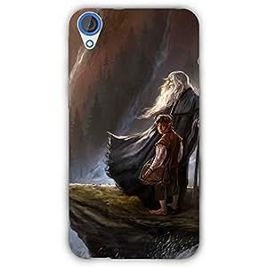 EYP LOTR Hobbit Gandalf Back Cover Case for HTC Desire 820 Dual Sim