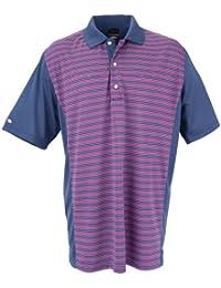 Greg Norman Collection Men's Seaview Pieced Stripe Polo