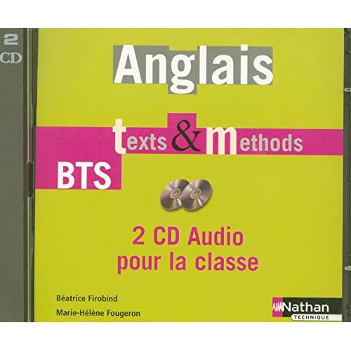 Anglais Texts & Methods - 2 CD audio collectifs