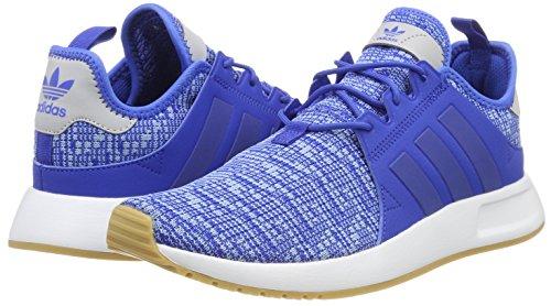 adidas originali degli uomini x a infrarossi basso sopra le scarpe da ginnastica, blu (blue / blu / gomma 3