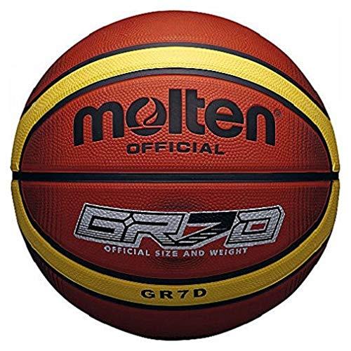Molten 33 Libertria Deep Channel Original Basketball, Tan, Größe 6